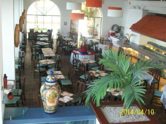 All Ritmo Cancún  Resort & Waterpark: El restaurante