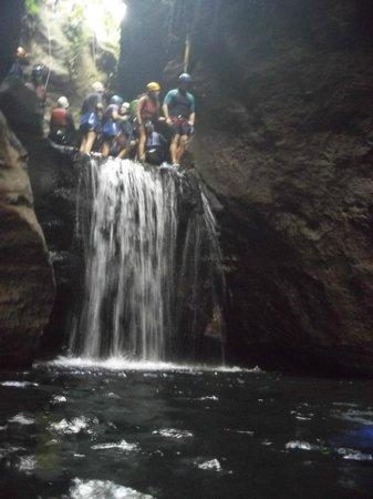 Canyon Speleo Caribbean: Saut