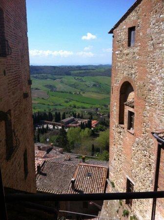 Osteria del Borgo: Vista dalla camera