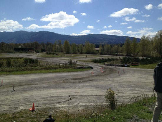 DirtFish Rally School: course