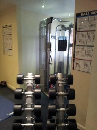Springfield Hotel & Health Club: weights and bits
