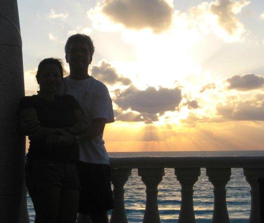 Mía Cancún: sunrise