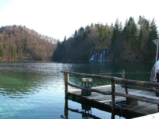 Plitvice Lakes National Park - boat/ferry dock