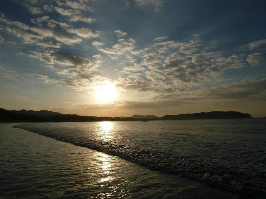 Rancho De La Playa: Lever du soleil sur playa Samara
