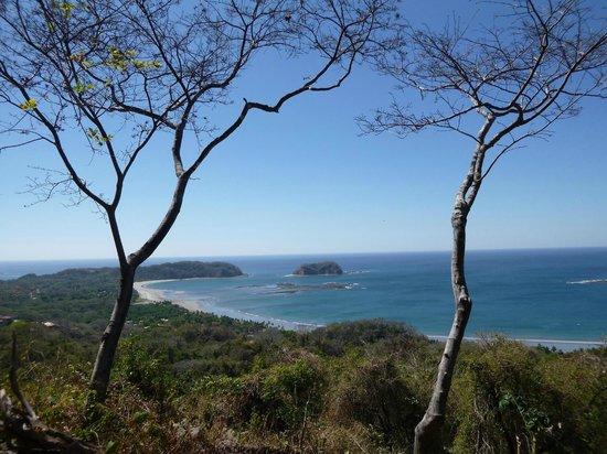 Rancho De La Playa: Vue sur la plage playa Samara