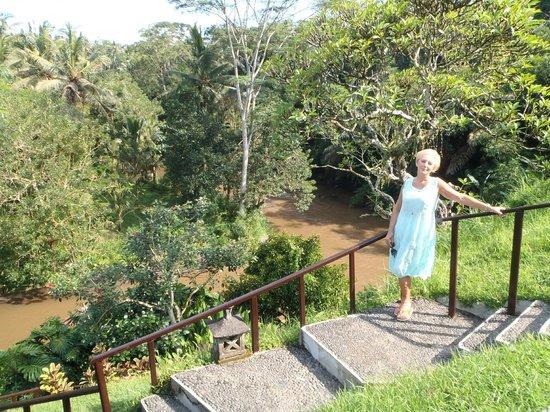 Villa Semana: View above River