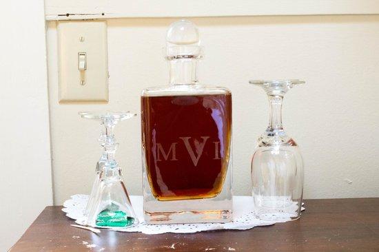Monte Verde Inn : Delicious sherry