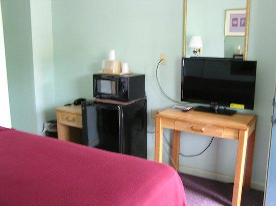 American Inn Motel: single full bed