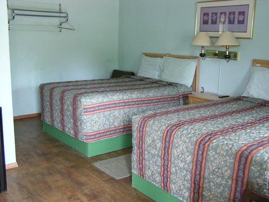American Inn Motel: bouble bed
