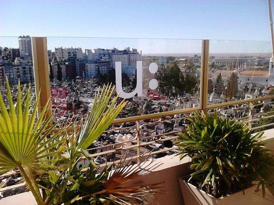Urban Suites Recoleta Boutique Hotel: Vistas increíbles!