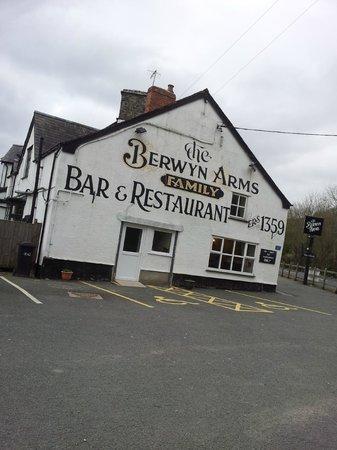 Outside The Berwyn Arms
