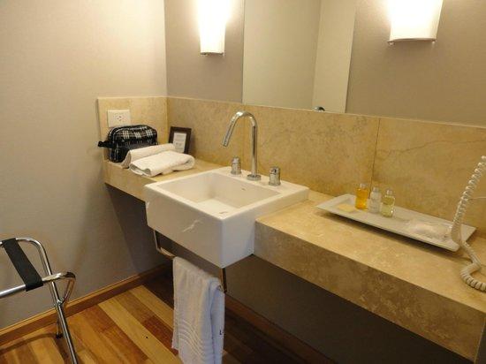 Urban Suites Recoleta Boutique Hotel: M buenos amenities, baño compartimentado super cómodo! La habitación tenía de hecho dos baños!!!