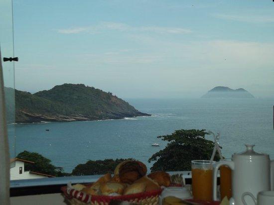 Casagrande Hotel Boutique : Vista do café da manhã