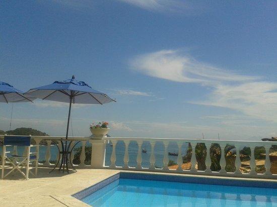 Casagrande Hotel Boutique : Piscina com vista para a praia de J Fernandes
