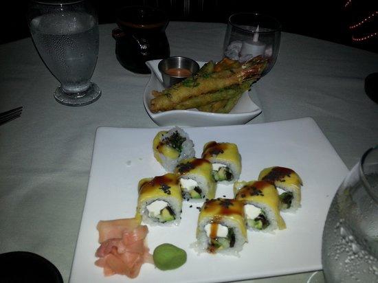 Naru Restaurant and Lounge : sushi and tempura