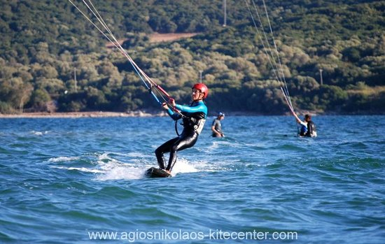 Vonitsa, Greece: kiteboarding lesson