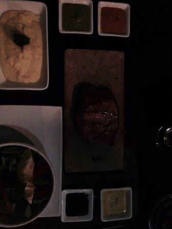 Uchu Peruvian Steakhouse: Alpaca steak