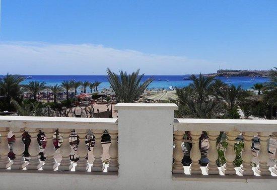 Al Bostan Hotel: Бухтв Наама. Вид с балкона