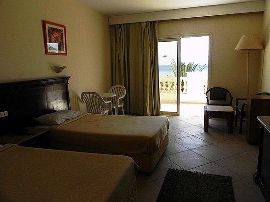 Al Bostan Hotel: Номер с видом на море