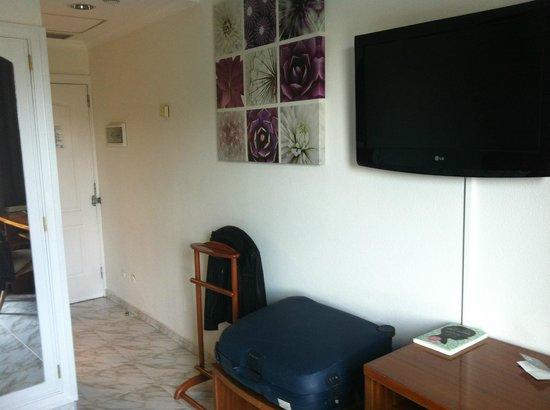 Hotel Parque : Espacio y TV plana