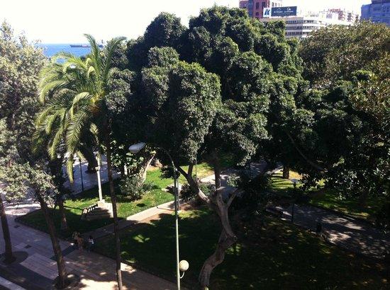Hotel Parque : Buena ubicación