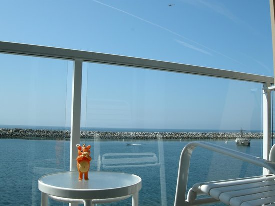 The Portofino Hotel & Marina, A Noble House Hotel: View from deck