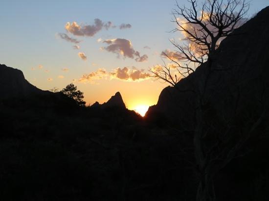 Big Bend National Park : Sunset