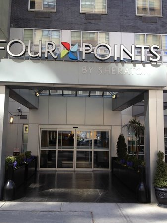 Four Points by Sheraton Manhattan SoHo Village: View from Outside