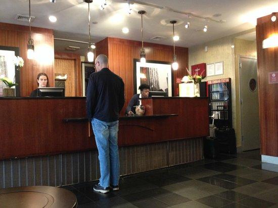 Four Points by Sheraton Manhattan SoHo Village: Hotel Lobby - Check in