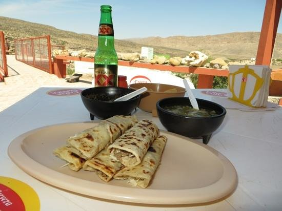 Alpine, TX: Lunch at Jose Falcon's in Boquillas del Carmen, Mexico-cross the border legally with your passpo