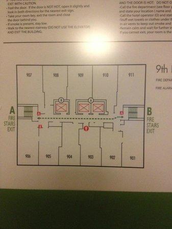 Hotel Floor plan - 40 floors - Picture