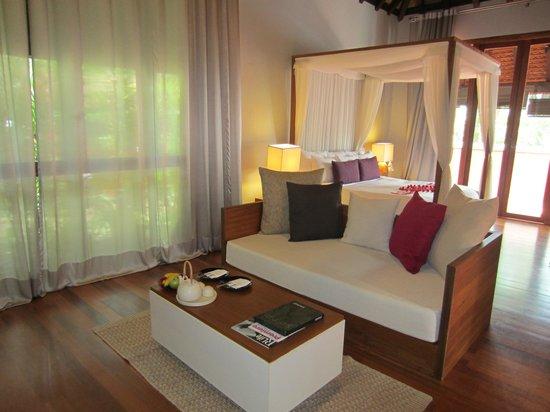 Renaissance Koh Samui Resort & Spa : Living room area