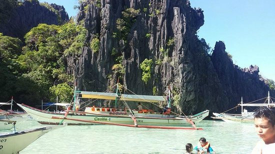 El Nido Four Seasons Resort: island hopping