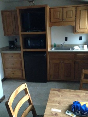 Gateway Lodge: Kitchenette