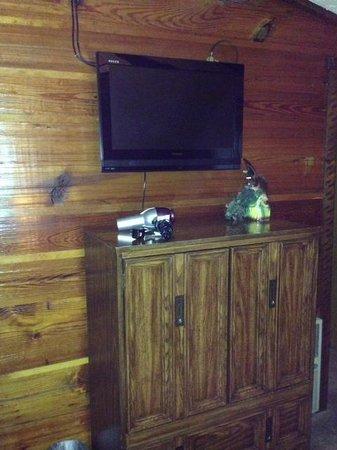 Gateway Lodge : Dresser/TV in bedroom
