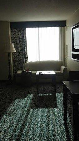 Residence Inn San Diego Downtown/Gaslamp Quarter: living area