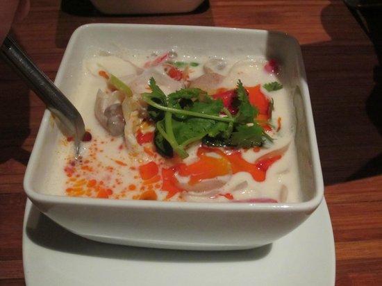 Renaissance Koh Samui Resort & Spa: Thai coconut soup