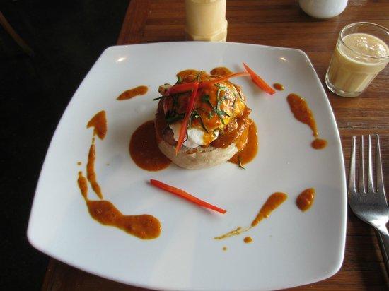 Renaissance Koh Samui Resort & Spa: Koh Samui Eggs Benedict - order one!