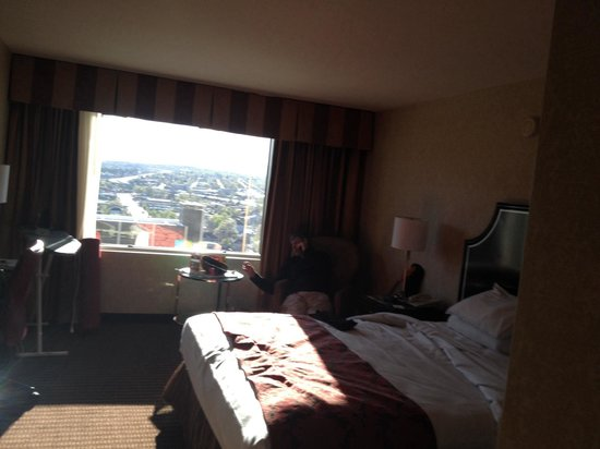 Silver Legacy Resort and Casino: Room with a view.