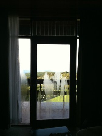 El Establo: Door to balcony
