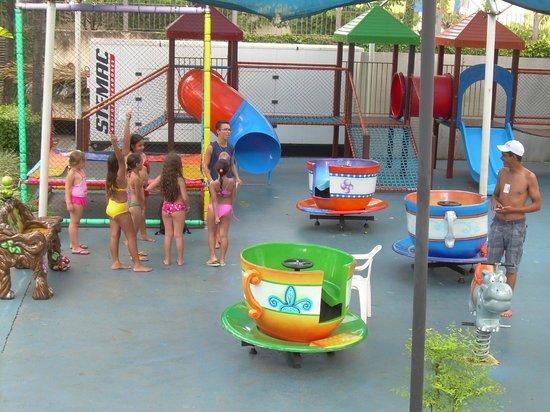 Prive Thermas Hotel: parque para as crianças