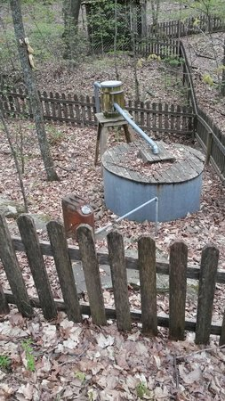 Madison County Nature Trail-Green Mountain: Whiskey still