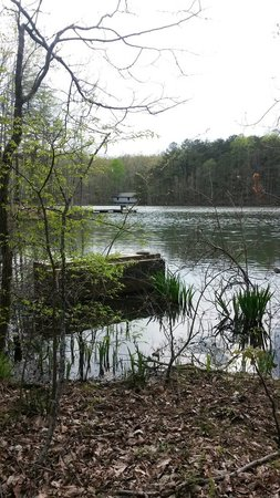 Madison County Nature Trail-Green Mountain: Water and covered bridge
