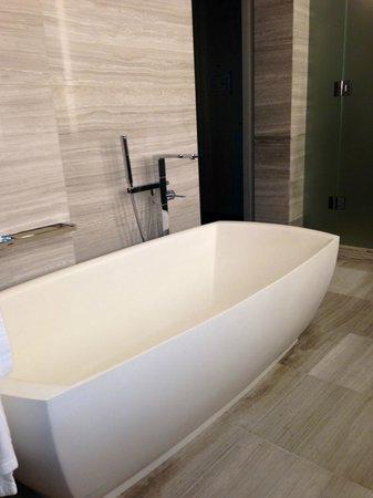 Four Seasons Hotel Toronto : Sleek, sexy bathtub