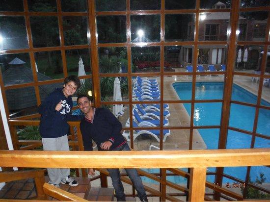 Rincon del Este Seaside Resort: mirando la piscina exterior