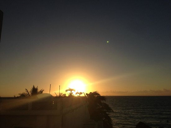 Playa Maya: Sunset from 302