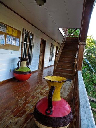 The Colibri Hill Resort: The Second Floor Balcony