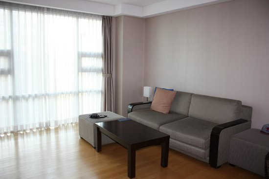 Fraser Place Central Seoul: Living area