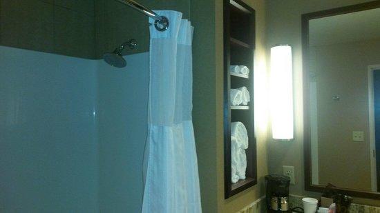 Seven Feathers Casino Resort : Bathroom Deluxe queen room