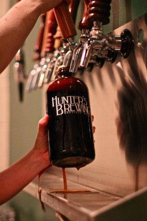 Hunter's Brewing: Best craft beer in the region!